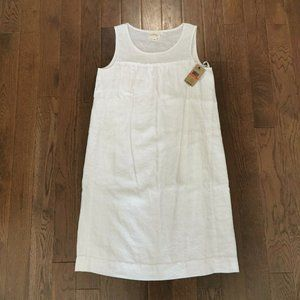 Pure DKNY | Sleeveless Linen Shift Dress